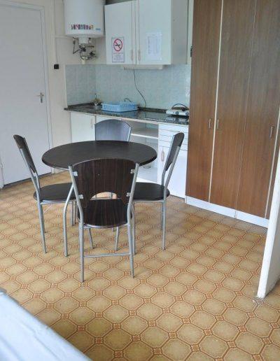 Békalencse apartman – konyha