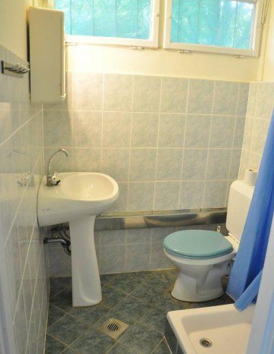 Békalencse apartman – fürdőszoba